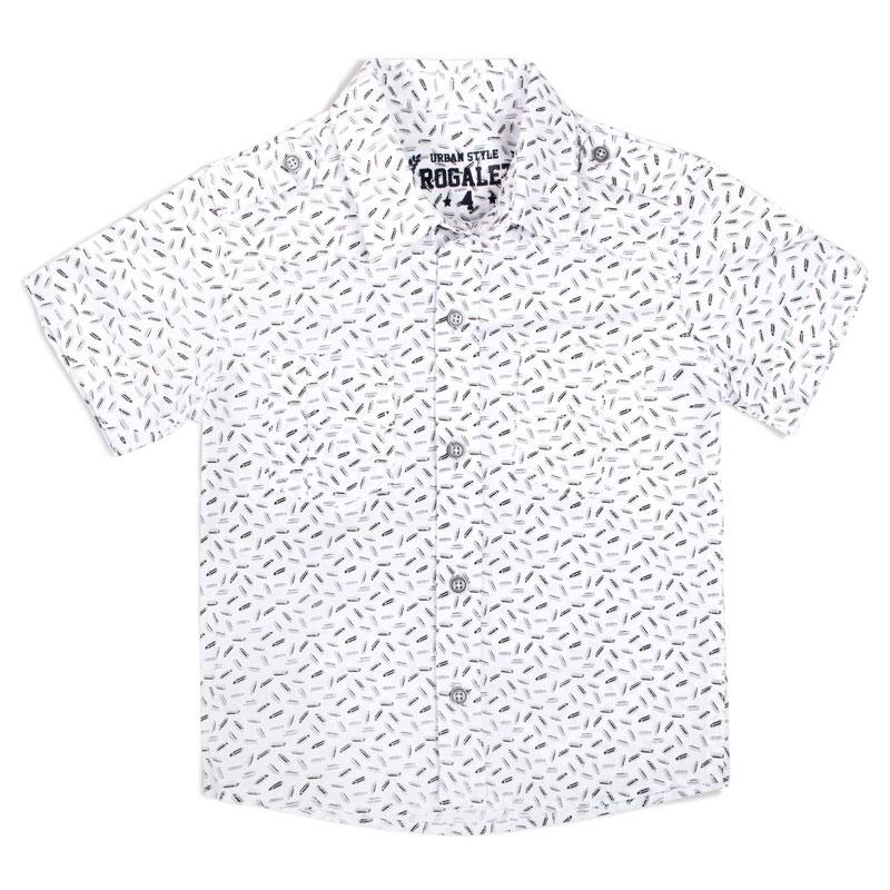 Camisa manga corta RGT733 niños negra