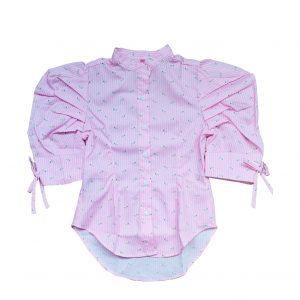 blusa-de-rallas-rosada-para-niña